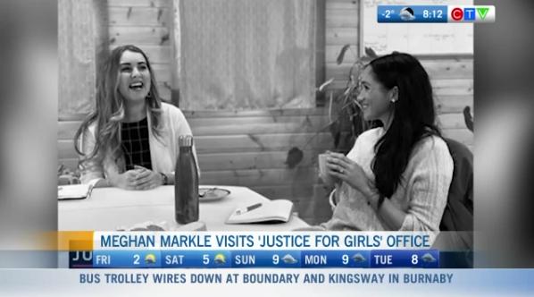 Justice for Girls Meghan Markle