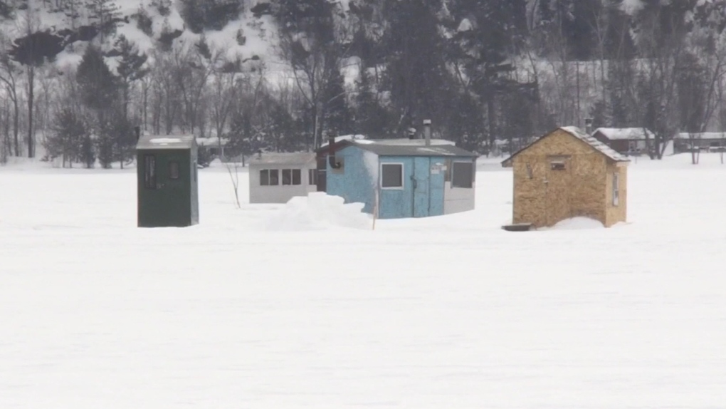 'Lock it or lose it': Ice shack theft prompts warning from police