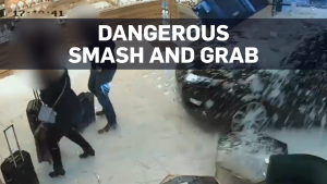 Caught on cam: Dramatic U.K. smash and grab
