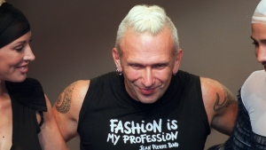 Gaultier, 67, stopped designing ready-to-wear clothes in 2015 to concentrate on haute couture. (AFP)
