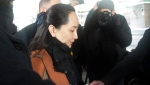 Meng Wanzhou chief financial officer of Huawei leaves B.C. Supreme Court in Vancouver, B.C., Friday, January 17, 2020 as she heads to B.C. Supreme Court. THE CANADIAN PRESS/Jonathan Hayward