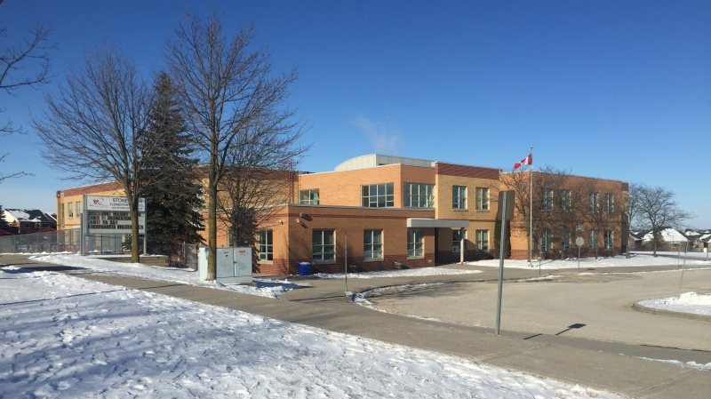 Stonehaven Public School is seen in this image taken on Jan. 17, 2020. (Beth Macdonell/CTV News Toronto)