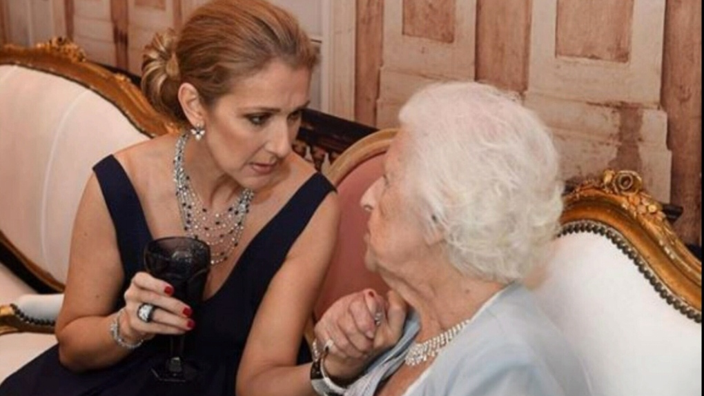 'She wanted all of you to have the time of your life': Céline Dion takes to the stage after her mother's death