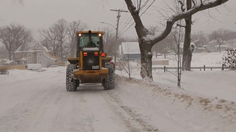 Cape Breton gets a winter wallop
