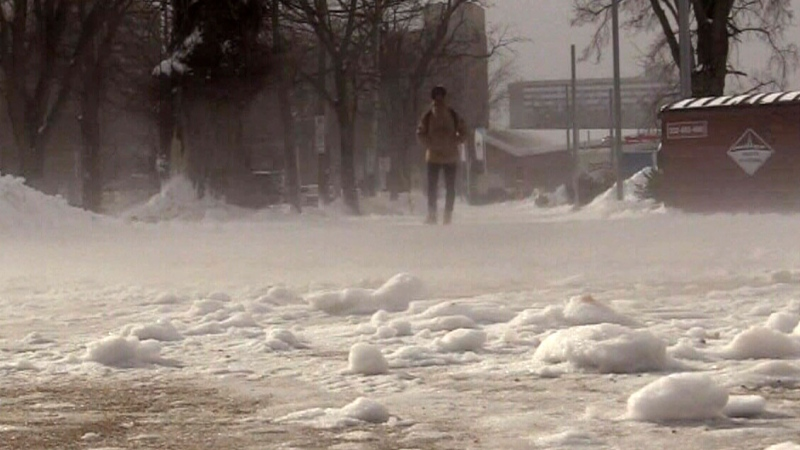 Maritimers wake up to cold snap