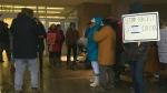 Dozens protest outside Halifax Walmart