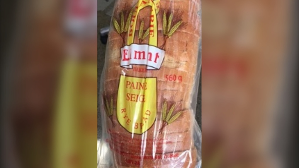 Recalled bread