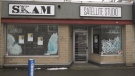 Approximately $5000-worth of theatre equipment was ripped off of the walls and stolen from Theatre SKAM's Satellite Studio: Jan. 17, 2020 (CTV News)