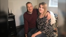 Steven Hay's wife Lora was supposed to donate one of her kidneys to him in September 2019. (Michelle Gerwing/CTV News)
