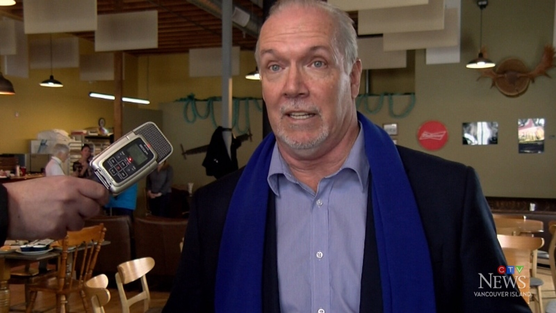Horgan discusses forestry strike, pipeline ruling