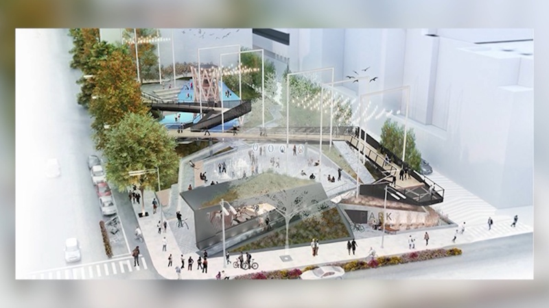 Construction underway on new Vancouver park