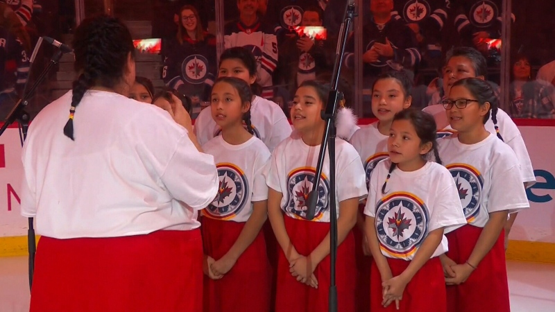 CTV National News: National anthem in Ojibwe