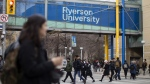 A general view of the Ryerson University campus in Toronto, is seen on Thursday, January 17, 2019. THE CANADIAN PRESS/Chris Young