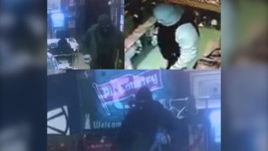 Police are on the lookout for a suspect man after robberies in Marsden and Radisson on January 17, 2020. (Photos Supplied by: Saskatchewan RCMP)