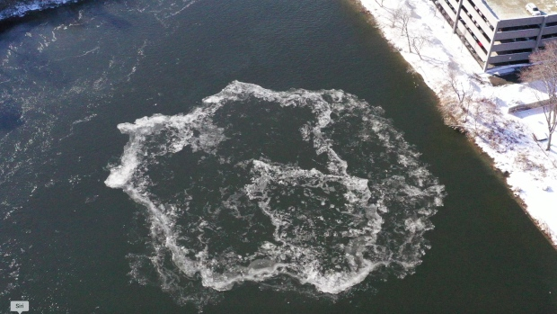 Coming around again: Famous ice disk seems to be re-forming