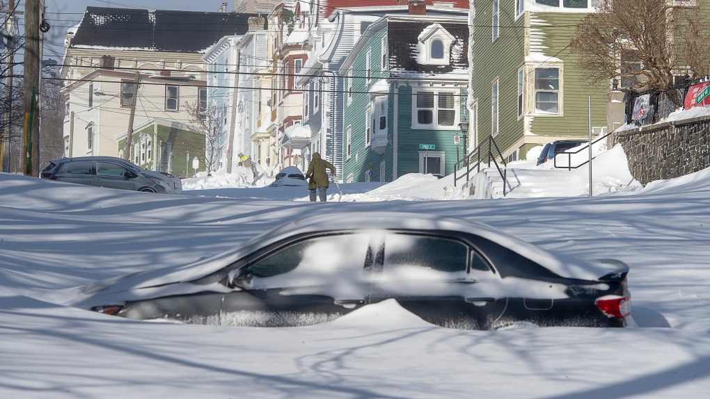 Winter weather escalates across Canada as army sent to help Newfoundland