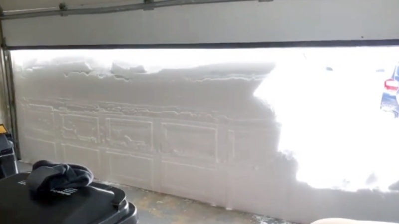 Blizzard smashes decades-old snowfall record