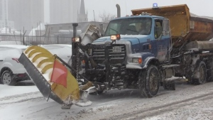 London snow plow