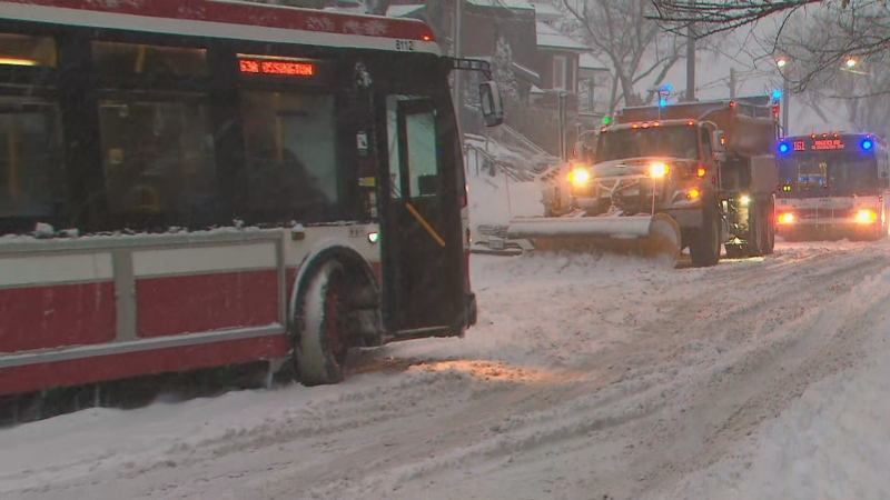 Snow has made the drive treacherous in the city. Several vehicles getting stuck while climbing up snow-covered hills.