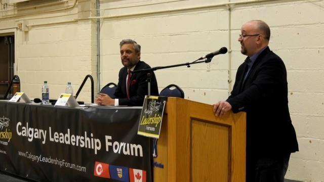 Wexit Alberta debates with Alberta Liberal leader David Khan