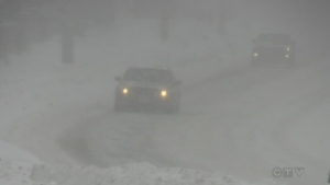 Major snow storm hits region