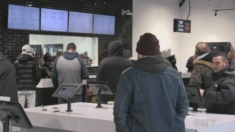 Cannabis store exceeding expectations