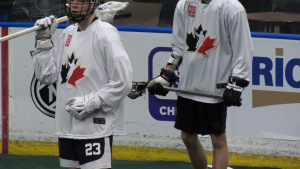 Team Canada World Junior Lacrosse combine in Saskatoon in January 2020.