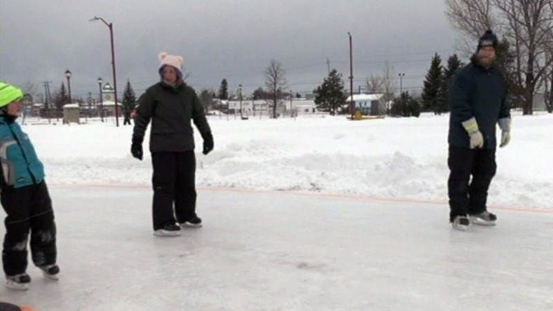 Winter Fun in Timmins
