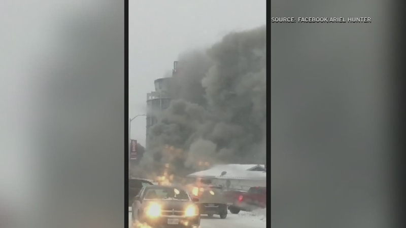 Grey Cup safe after hotel fire
