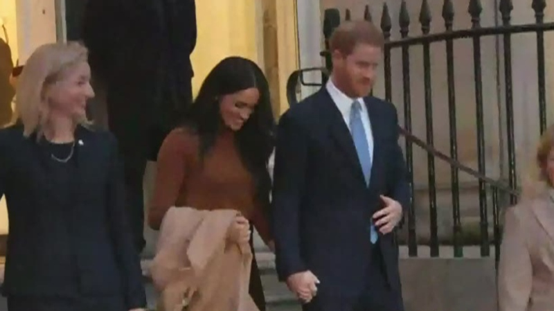 Harry and Meghan get 'new arrangement'