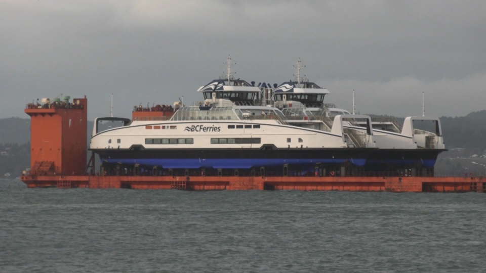 Island Class ferries arrive in Victoria