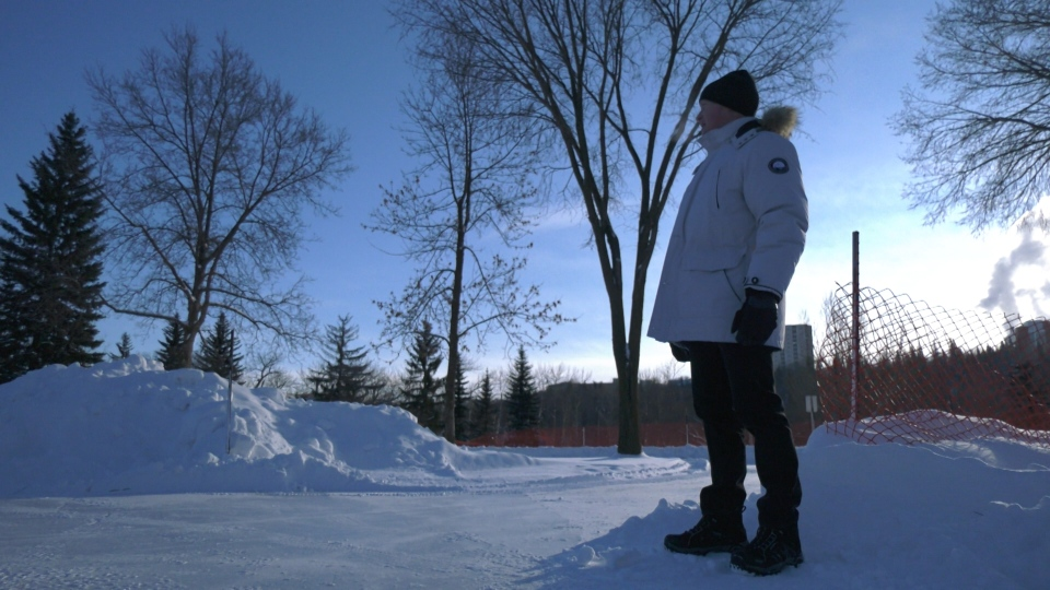 Edmontonian Richard Cairney said single-digit temperatures forecasted for Monday, Jan. 20, will feel like