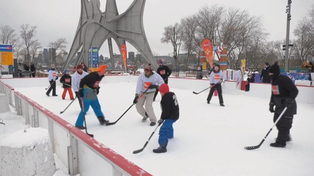 Fete des neiges kicked off Saturday in Parc Jean-Drapeau