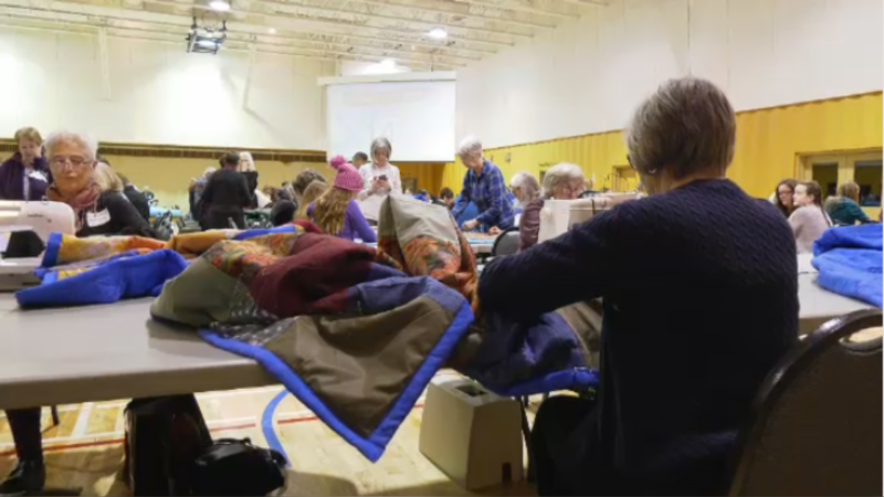 """The Mennonite Central Committee hosted the first """"Great Winter Warm-Up"""" to help those in need."""