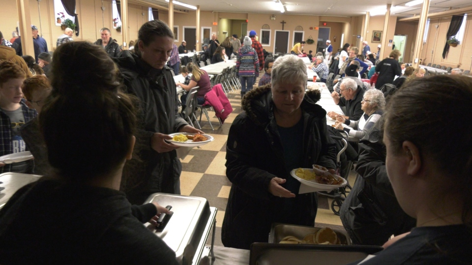 Timmins MPP Gilles Bisson hosted his annual New Year's breakfast buffet