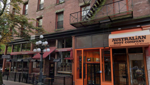 112 Water Street is seen in this image from Google Street View.