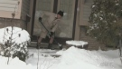 Residents dig out after heavy snowfall