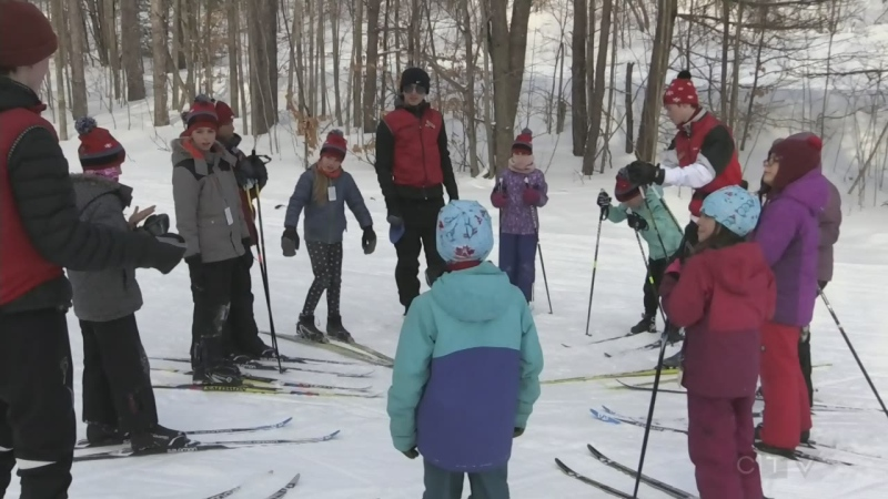 Engaging kids in winter sports