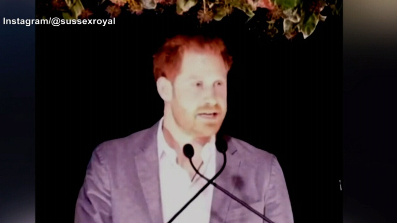 Prince Harry addresses leaving royal duties