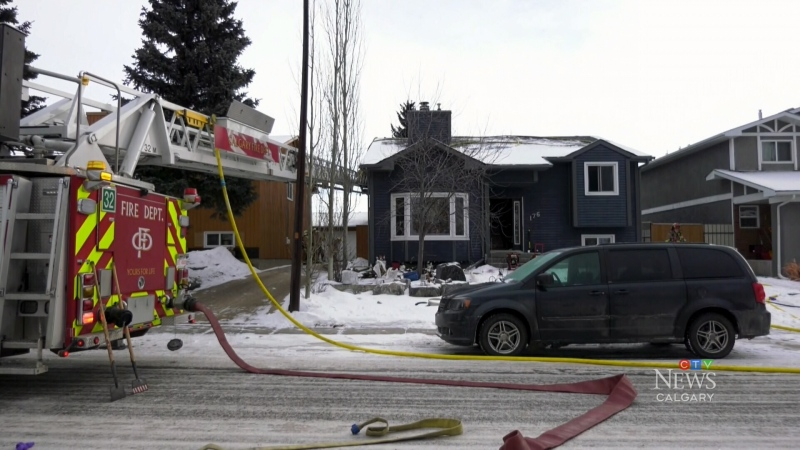 100 block of Templeby Drive N.E. fire Jan 19 2020