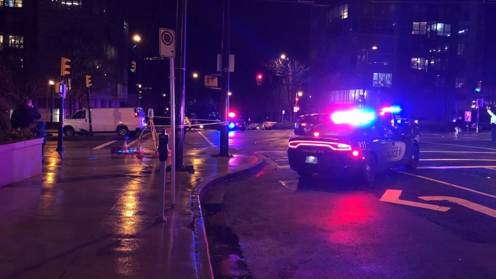 Pedestrians struck downtown Vancouver
