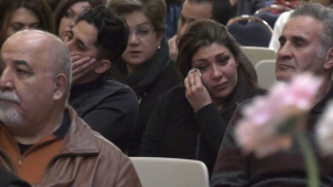 Memorial held for plane crash victims