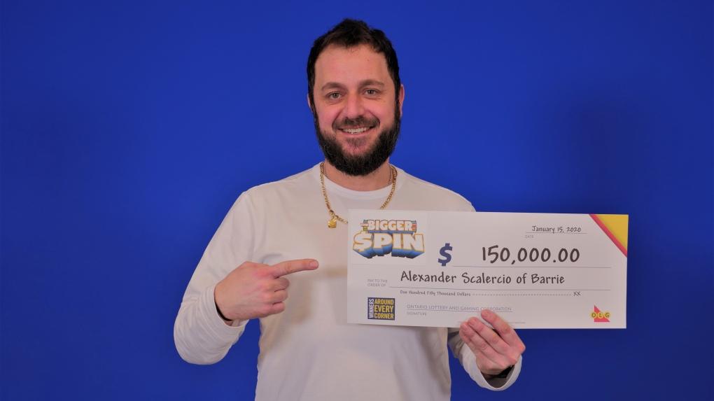 $150,000 winner
