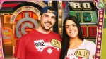 Jamie Scissions and his wife Mallory appeared on the Price is Right on Jan. 20. (Supplied: The Scissions')