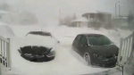 Cars buried in St. John's snowstorm