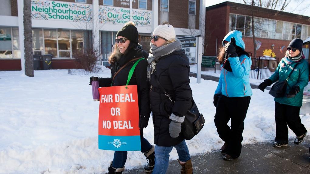 Ontario teachers strike