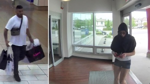RCMP are hoping the public can identify these two people who are suspected of using stolen debit cards to commit about $28,000 in fraudulent transactions.  If you know them call Surrey RCMP 604 599 0502. If you wish to make an anonymous report, please contact Crime Stoppers at 1-800-222-TIPS or www.solvecrime.ca