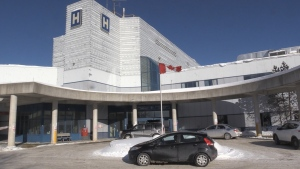 Timmins and District Hospital. Jan. 20/20 (Sergio Arangio/CTV Northern Ontario)