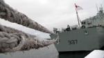 HMCS Fredericton sets sail