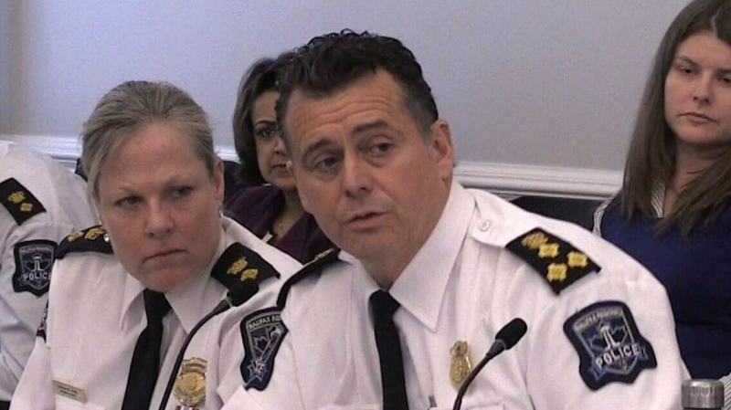 Halifax Police Chief Dan Kinsella said the case is now with the courts, so the charges could be dropped if the crown decides not to prosecute.